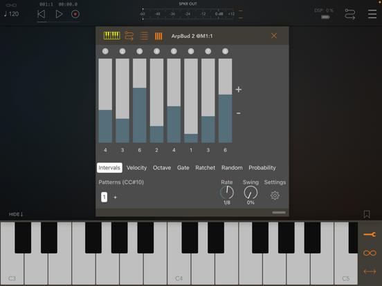 ArpBud 2 AUv3 MIDI Arpeggiator by Cem Olcay | discchord