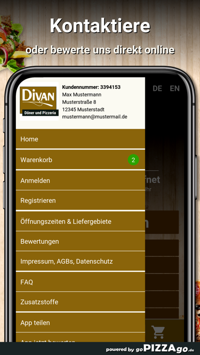 Divan Düsseldorf screenshot 3