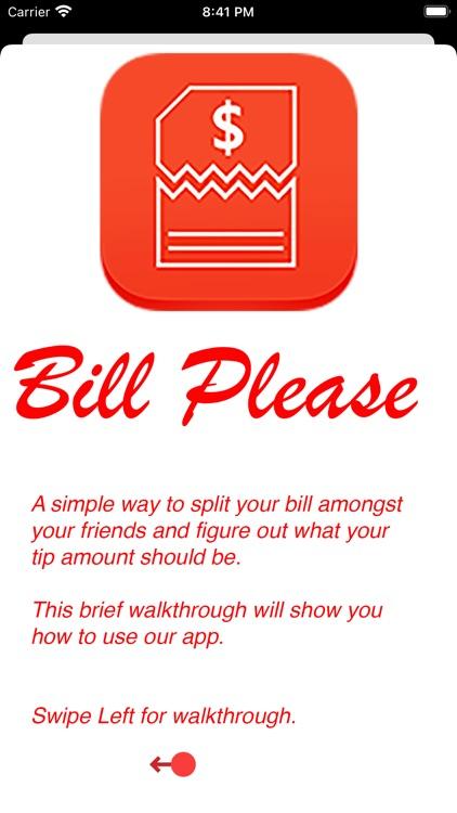 Bill Please - Split your bill.
