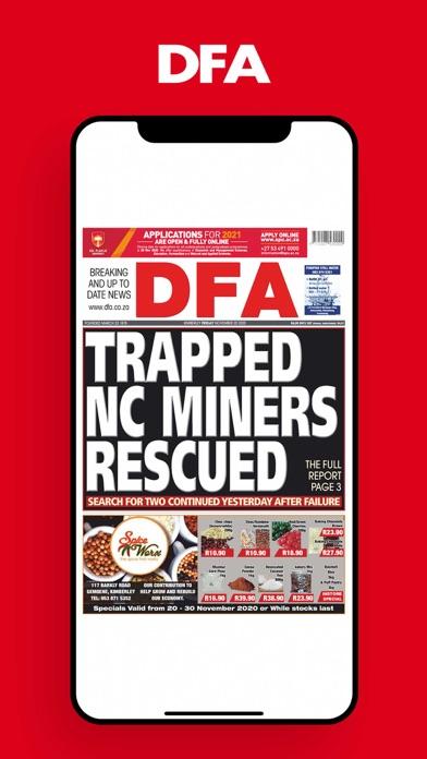 DFA NewsScreenshot of 1