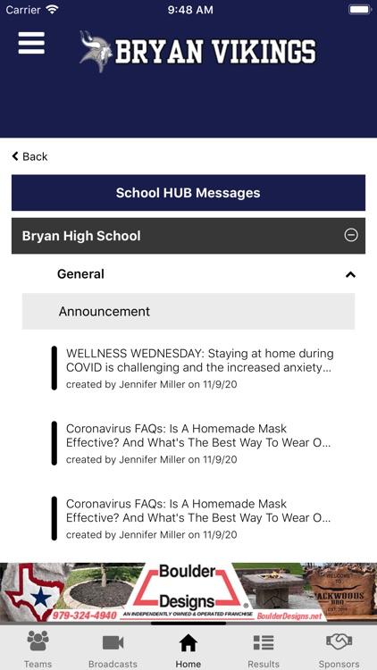 Bryan ISD Athletics screenshot-6