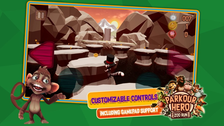 Parkour Hero: Zoo Run screenshot-3