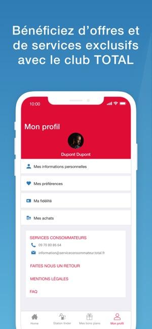 Total Services Station Finder Dans L App Store