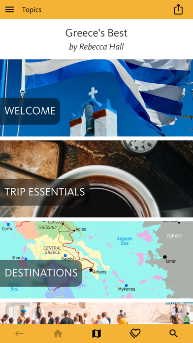 Greece's Best: Travel Guide Screenshots