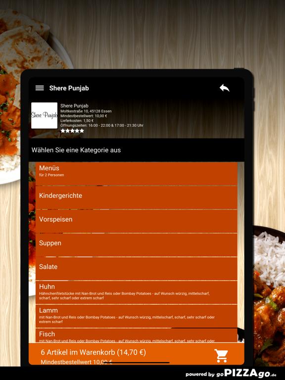 Shere Punjab Essen screenshot 8