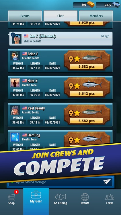 TAP SPORTS Fishing Game screenshot-6