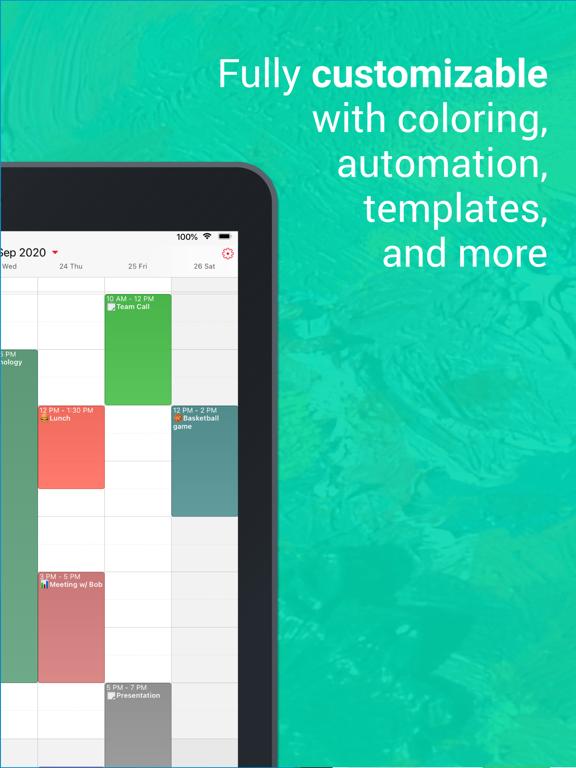 WeekCal - Fully Unlocked iPad app afbeelding 2