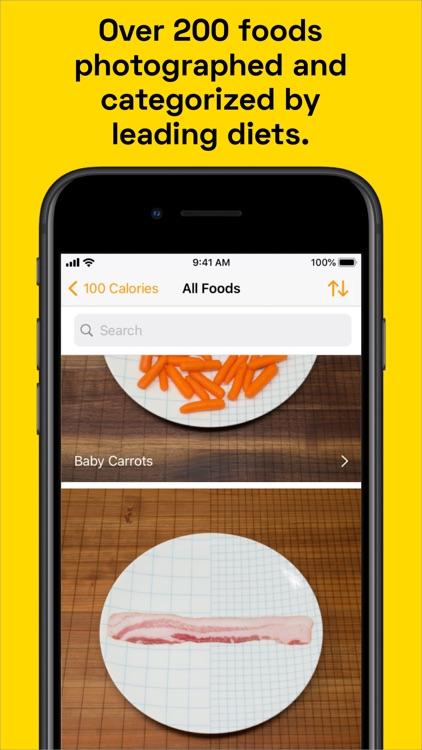 100 Calories: Food Photos