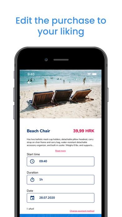Beach Amenities Management screenshot 3