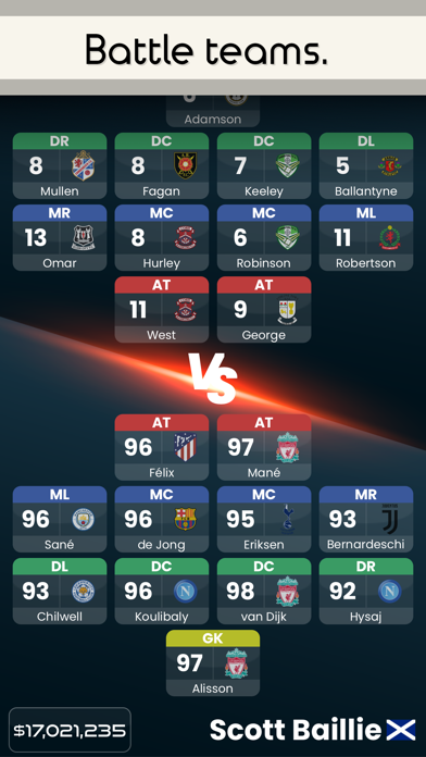 Fantasy Football Battle screenshot 3