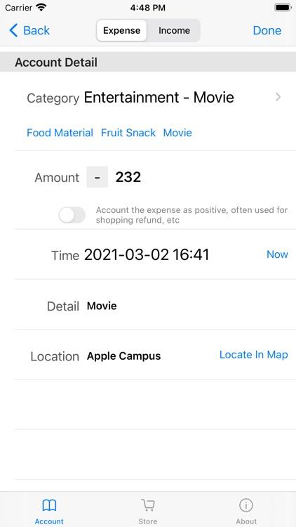 Account Book - Simple screenshot-4