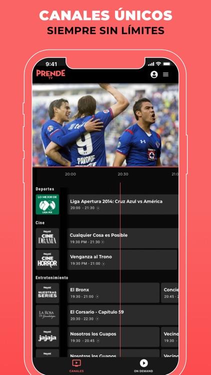 PrendeTV: TV In Spanish screenshot-3