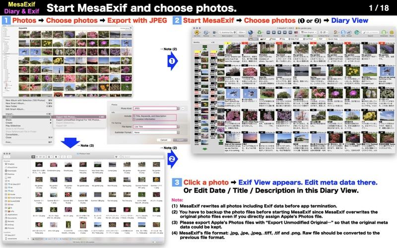 MesaExif screenshot 1