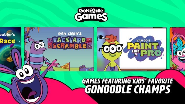 GoNoodle Games screenshot-7