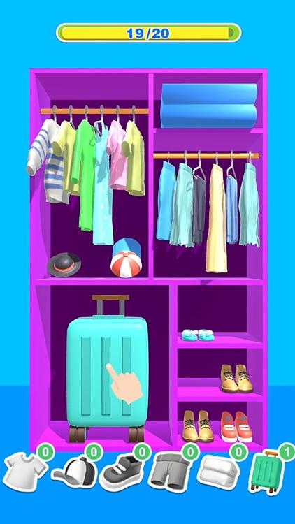 Tidy Clothes 3D