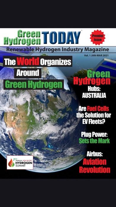 Green Hydrogen Today MagazineScreenshot of 1