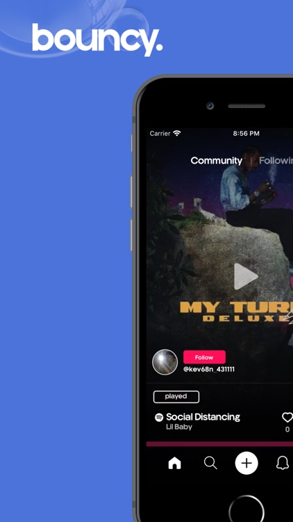 Bouncy: Social Music Discovery