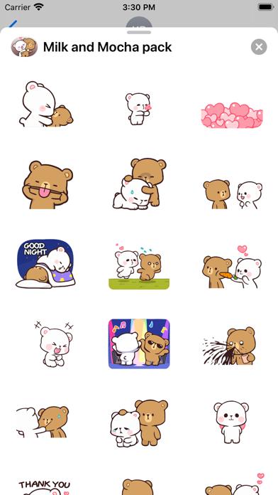 New Milk & Mocha Stickers 2021 Screenshot