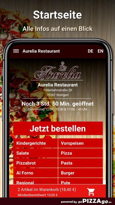 Aurelia Restaurant Stuttgart screenshot 2