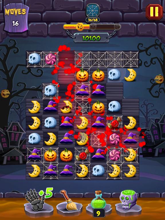 Lost Pumpkin - A Match Puzzle screenshot 12