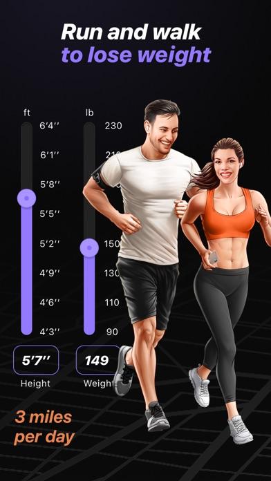 Run & Walk to lose weight Screenshot