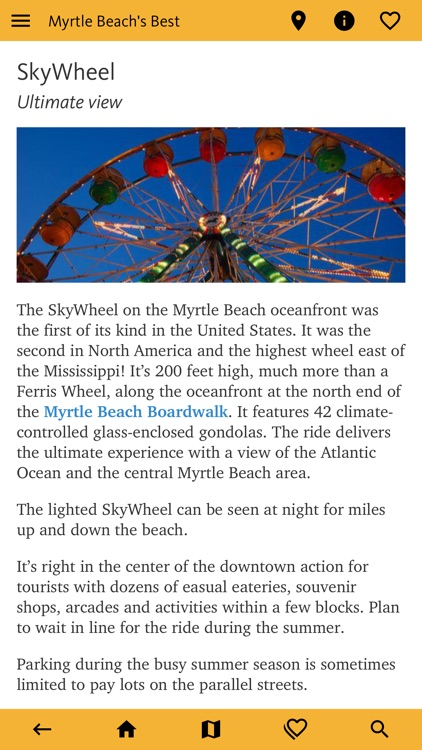 Myrtle Beach's Best Travel App