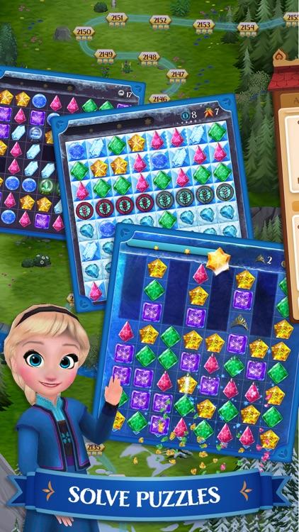 Disney Frozen Free Fall Game screenshot-0