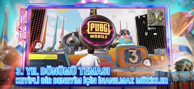 Pubg Mobile 3 Yil Donumu App Store Da