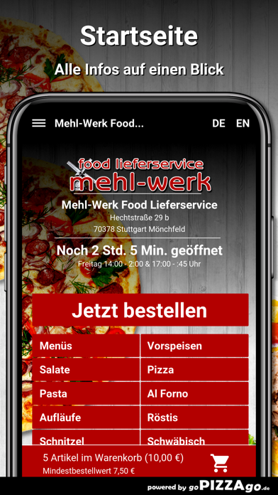 Mehl-Werk Stuttgart Mönchfeld screenshot 2