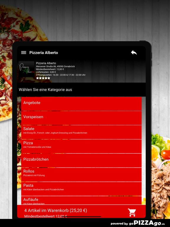 Pizzeria Alberto Osnabrück screenshot 8