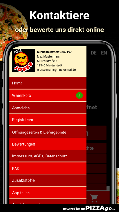 Pizza Joker Langen (Hessen) screenshot 3