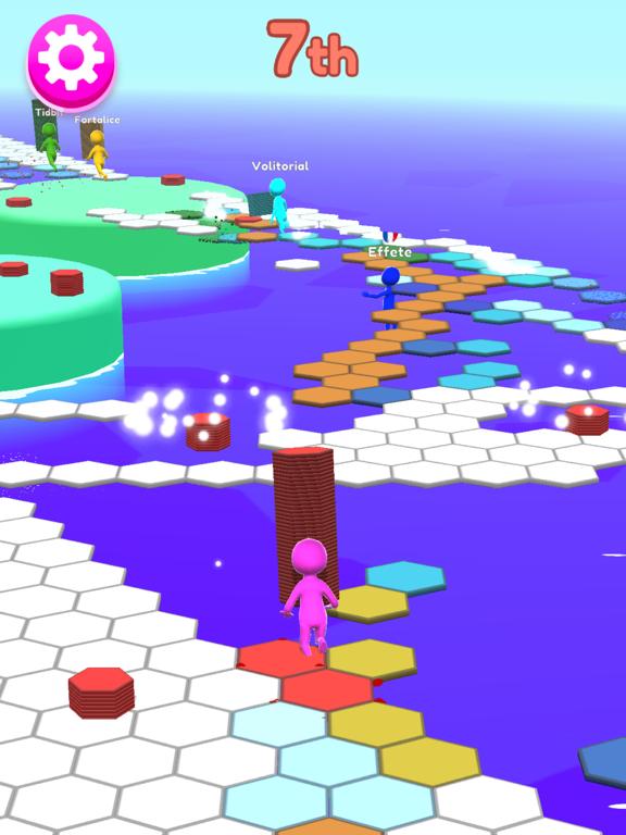 Hexagon Run 3D screenshot 7