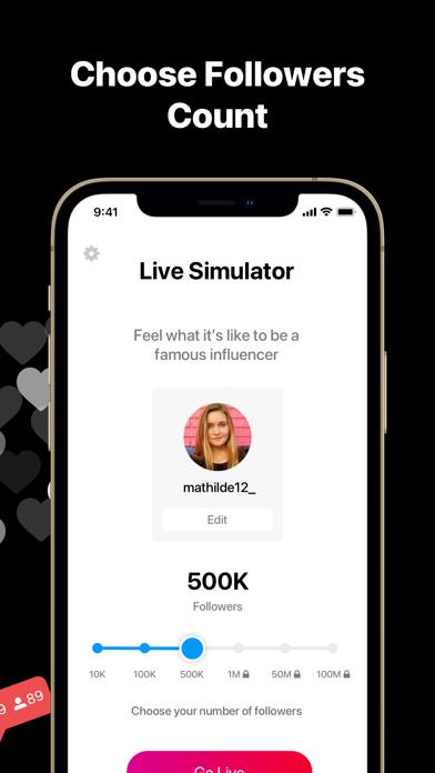 VLIVE - Fame Live SimulatorScreenshot of 2