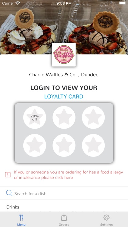 Waffles charlie Welcome to
