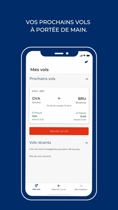Screenshot #1 pour Brussels Airlines