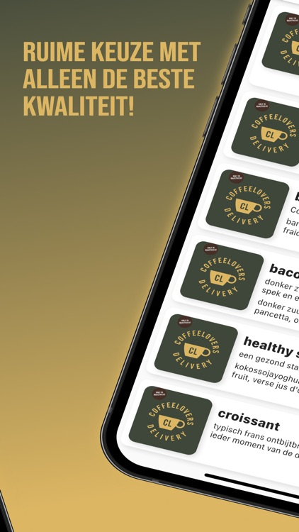 Coffeelovers Delivery screenshot-3