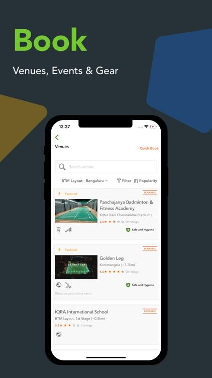 Playo – Connect. Play. Track. screenshot-3