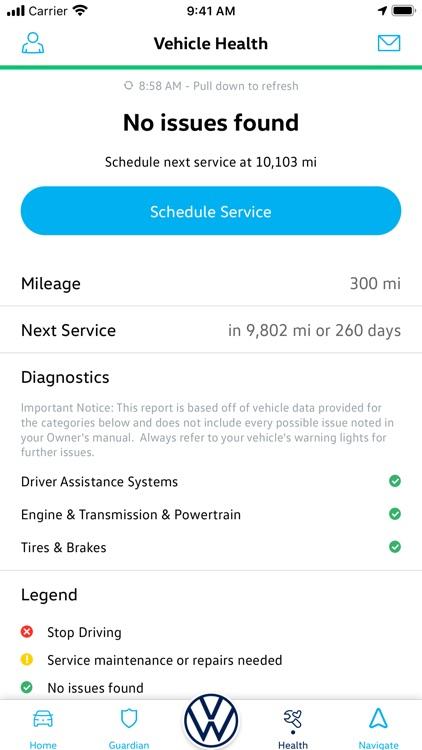 Volkswagen Car-Net screenshot-3