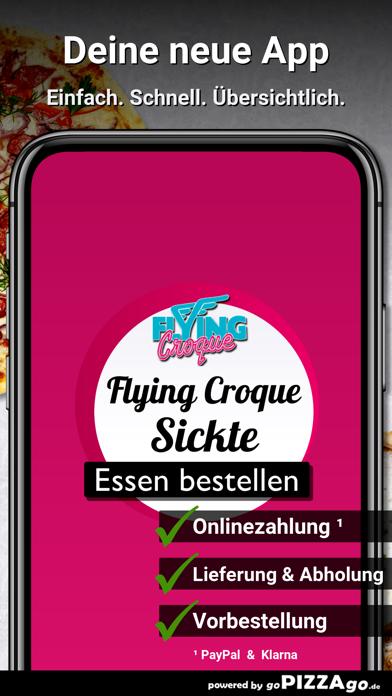 Flying Croque Sickte screenshot 2