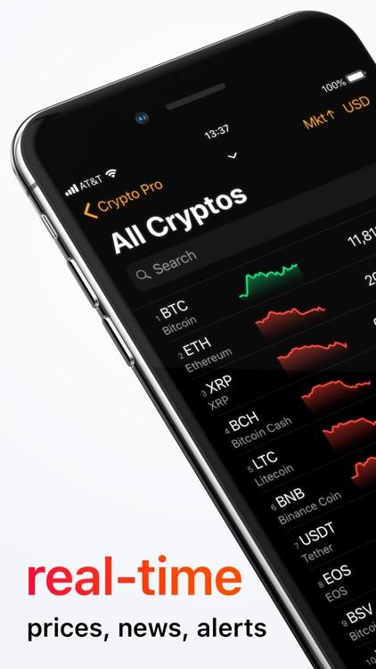 Crypto Pro - Bitcoin Ticker