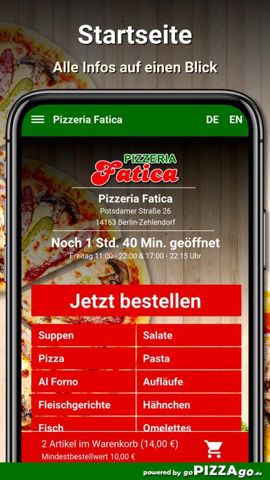 Fatica Berlin-Zehlendorf screenshot 1