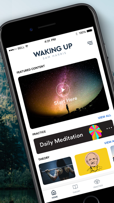 Waking Up: Guided Meditation Screenshot