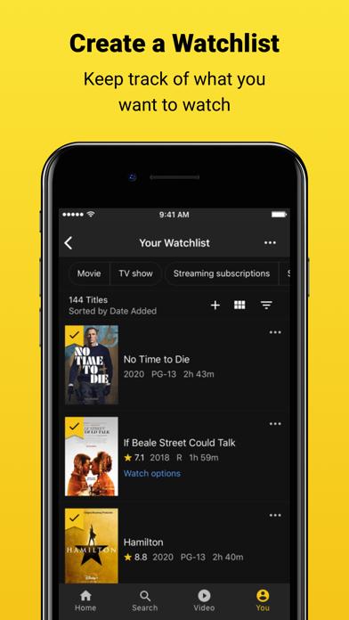 messages.download IMDb Films & TV software