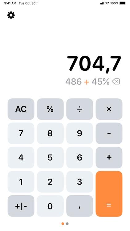 Calculator Air - Math Calc
