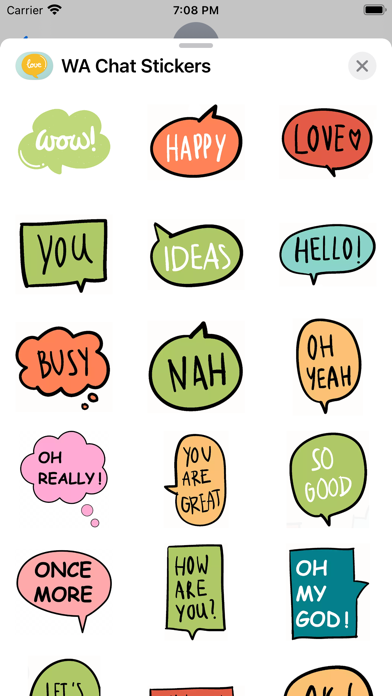 WA Chat Stickers screenshot #5