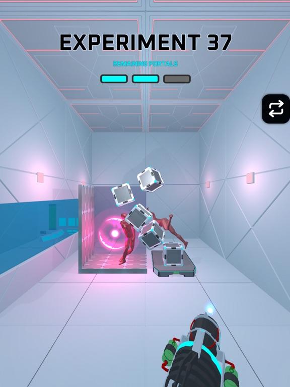 iPad Image of Portals Experiment