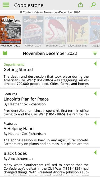 Cobblestone Mag: U.S. History screenshot-6
