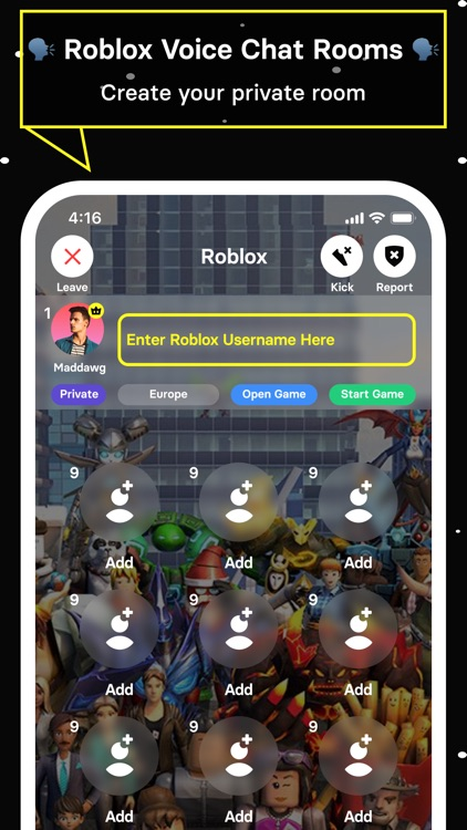 HMUChat: Voice Chat for Roblox screenshot-5