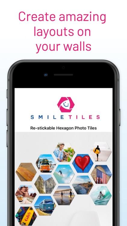 SmileTiles Hexagon Photo Tiles screenshot-5