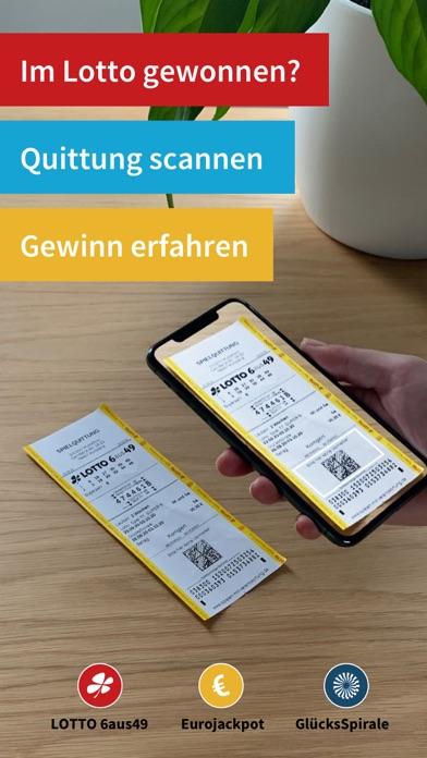 Lotto Scanner für LottoscheineScreenshot von 1